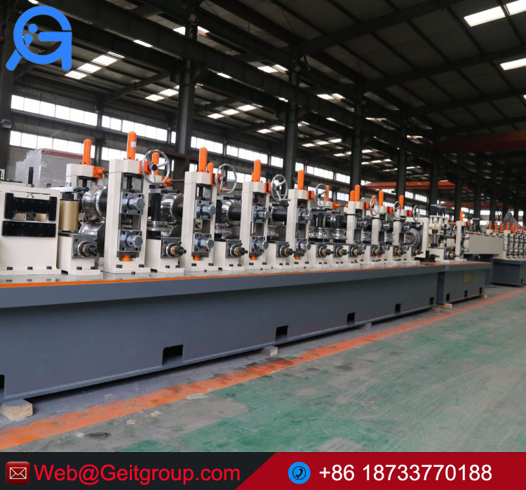 Stainless steel pipe and tube production line