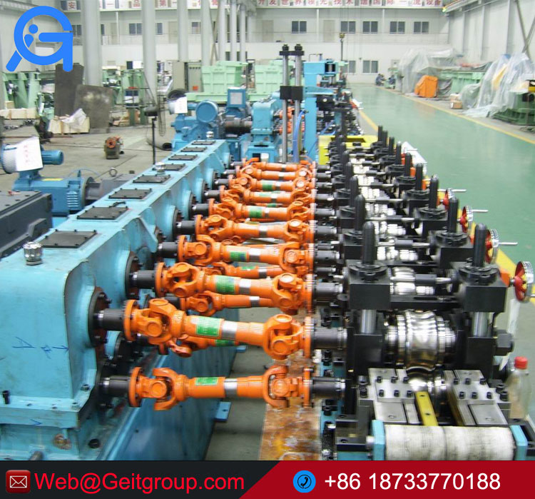 BG76 Stainless Steel ERW Welding Tube Mill/Pipe Making Machine