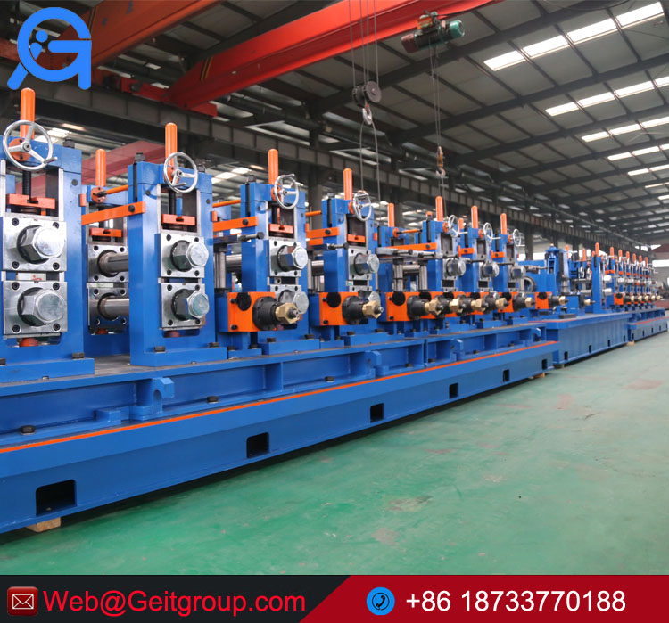 What is high-frequency straight seam welded pipe mill?