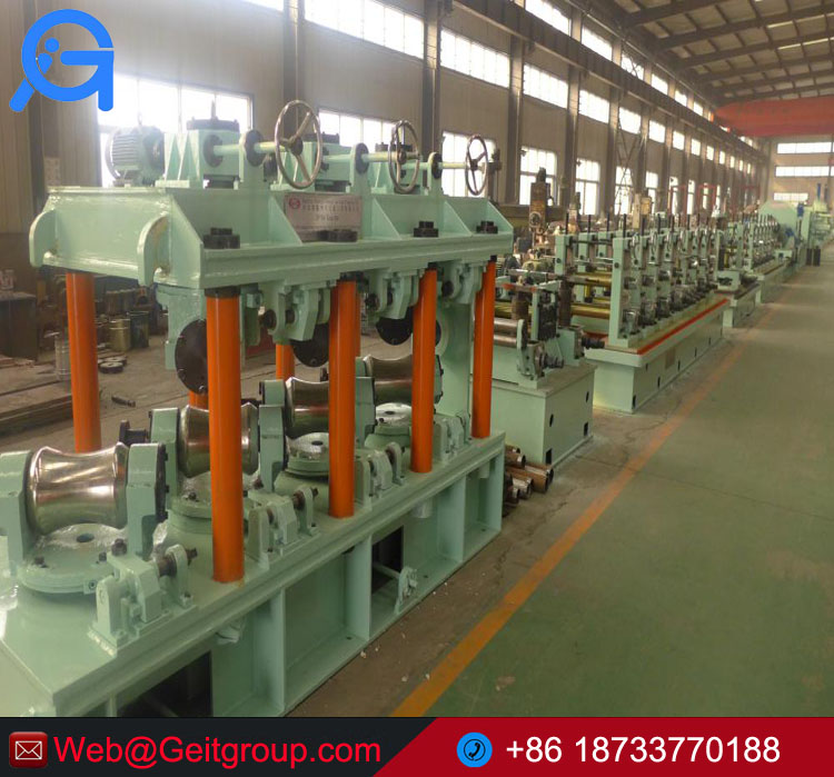 BG114 Tube Making Machine Produce Stainless Steel Pipes/Tubes
