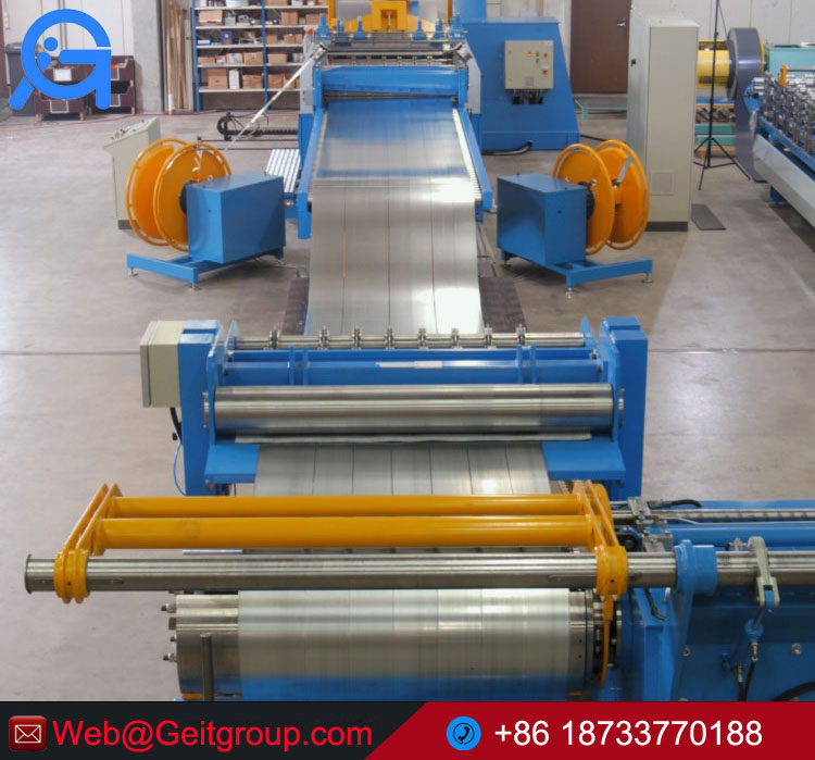 Aluminium and steel coil slitting lines