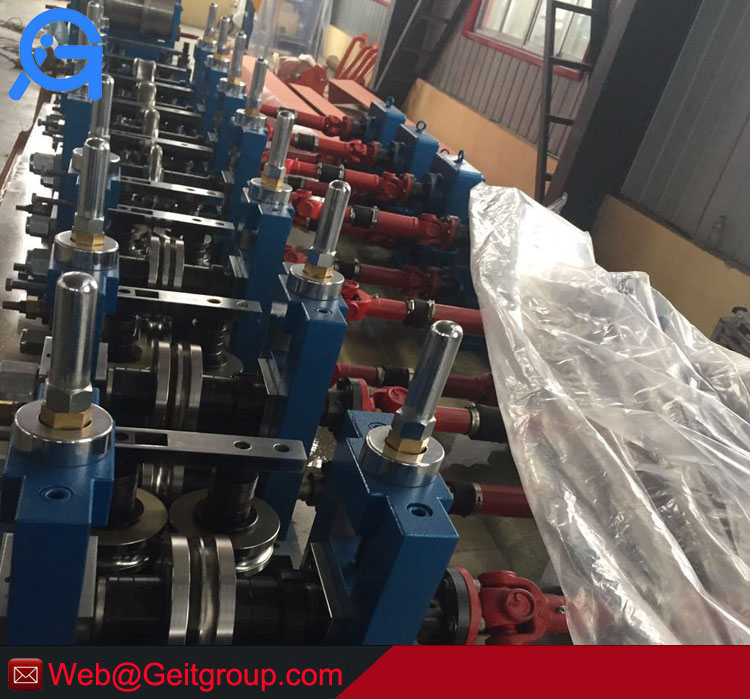 Automatic stainless steel tube making machine with mature technology