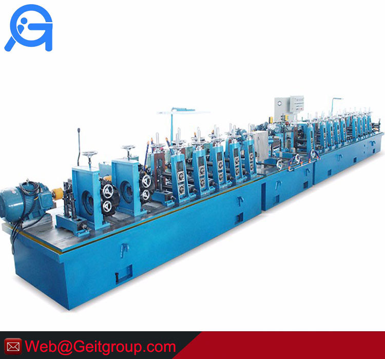 High precision machine unit for stainless steel welded pipe